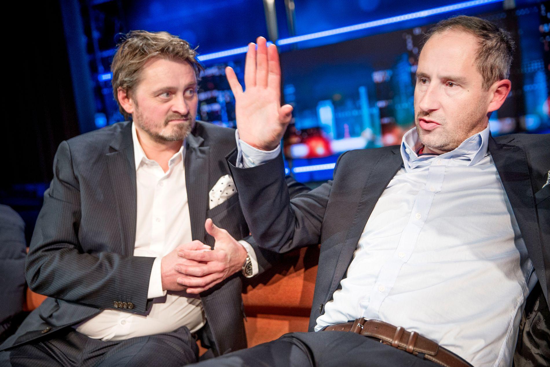 VETERANER: Thomas Numme og Harald Rønneberg takker av etter 15 år.