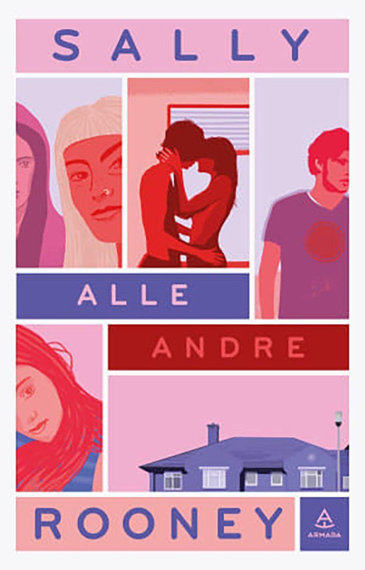Forfatter Jørn Lier Horst anbefaler boken «Alle andre», av Sally Rooney.