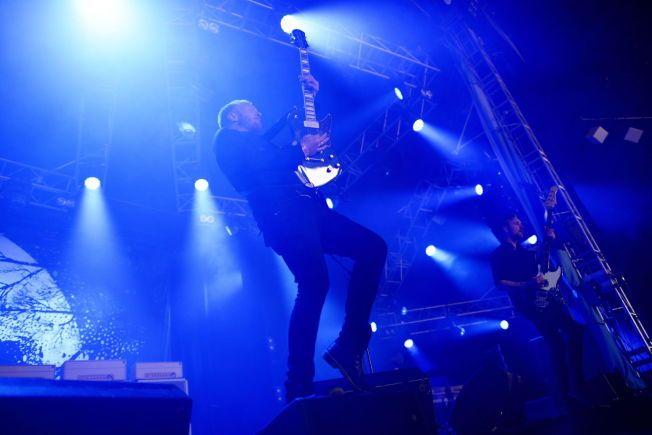 ETTERTRAKTET: Gitarist Terje Winterstø Røthing i bandet Skambankt er den nordmannen som har spilt flest ganger på Roskilde.