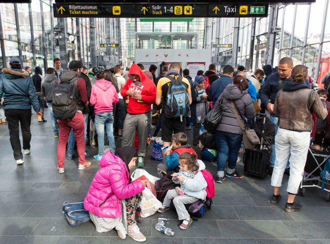 MALMØ: Jernbanestasjonen i Malmø har vært første møte med Sverige for tusenvis av flyktninger i høst.