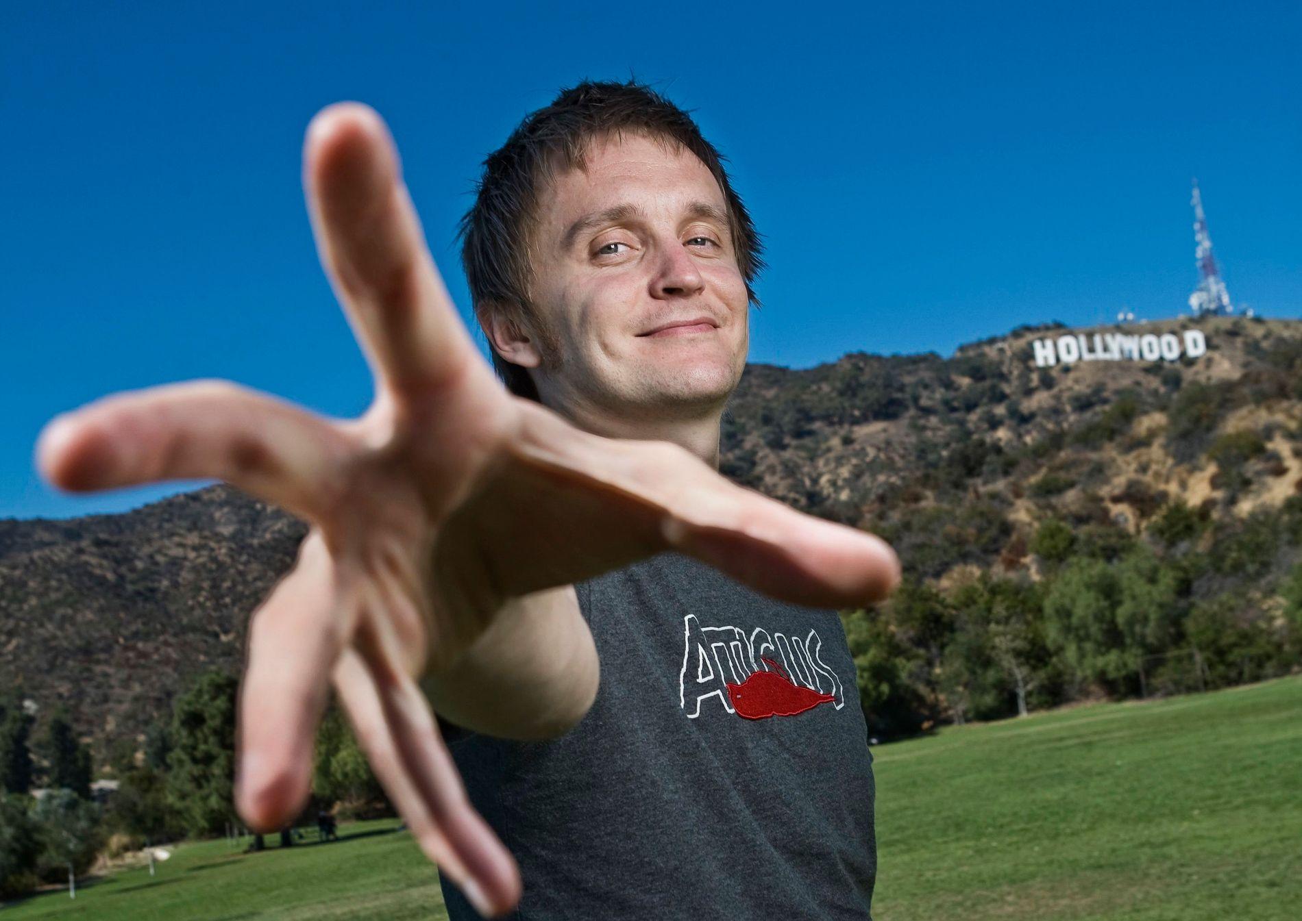I HOLLYWOOD: Tommy Wirkola har fått nok en filmjobb i Hollywood. Her fra 2010.