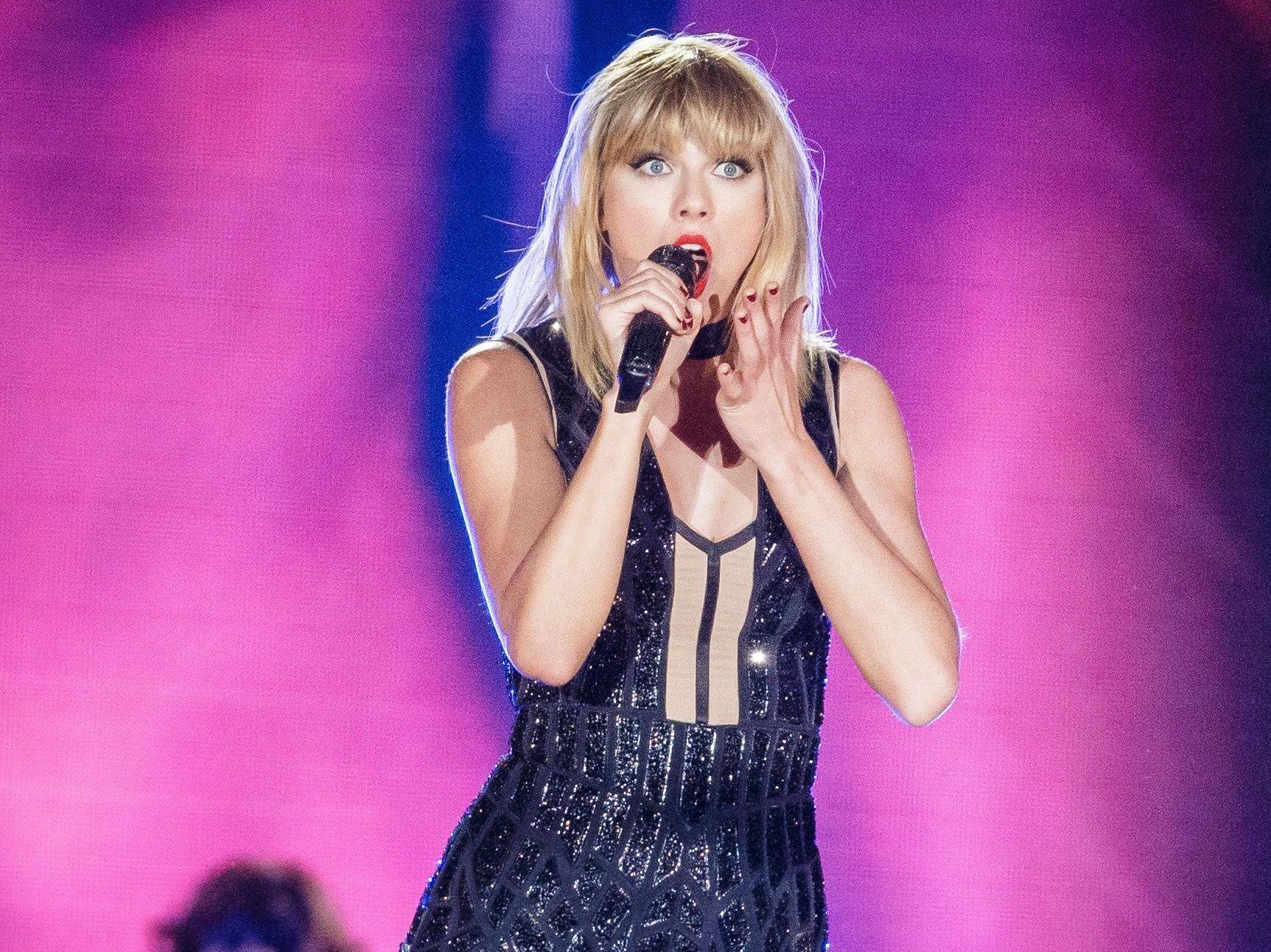 TILBAKE PÅ SPOTIFY: Taylor Swift, her fra hennes eneste konsert i 2016.