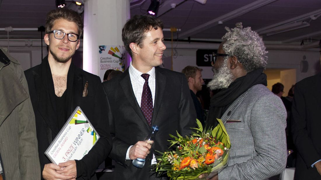 Norsk regnjakkeduo fikk entreprenørpris