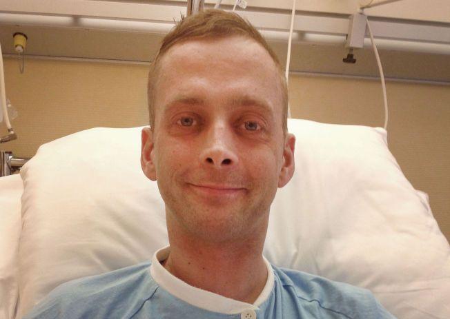 SYKDOM: Rolf Erik Eikemo forteller at smertene så langt ikke har vært uutholdelige. Foto: PRIVAT