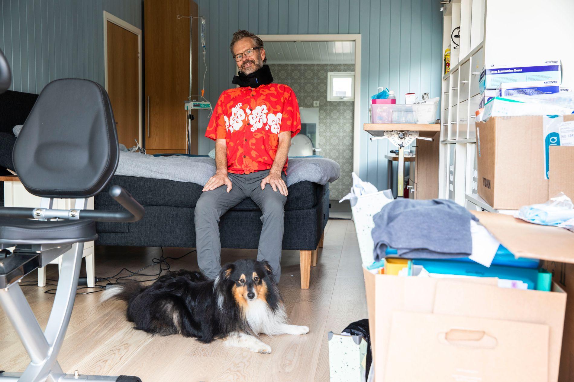 ALS: Bjørn Brennskag (48) fikk diagnosen ALS i november 2017. – Muligheten til å prøve medisinen har vært utrolig viktig for meg, sier han.