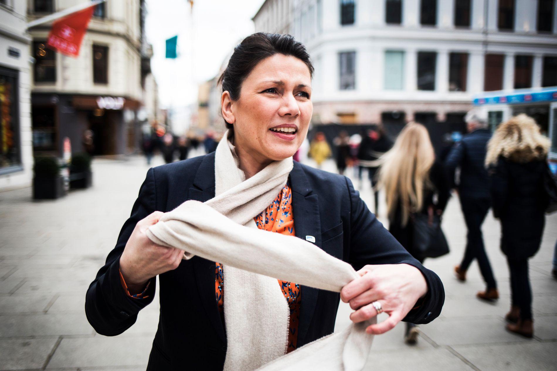 KLAR HØYRE-TALE: Nestleder Heidi Nordby Lunde i Stortingets arbeids- og sosialkomité vil støtte .