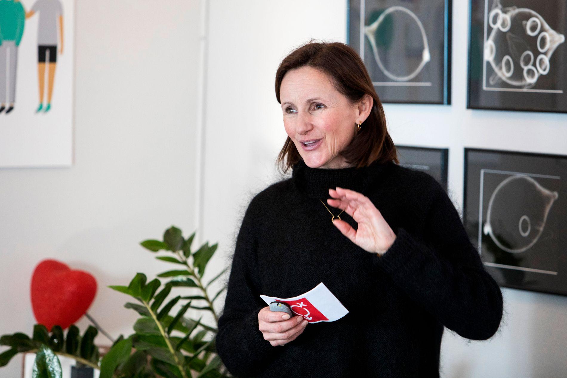 Daglig leder ved Sex og samfunn, Maria Røsok, jobber ut fra slagordet Frihet fra skam, frihet til å velge.