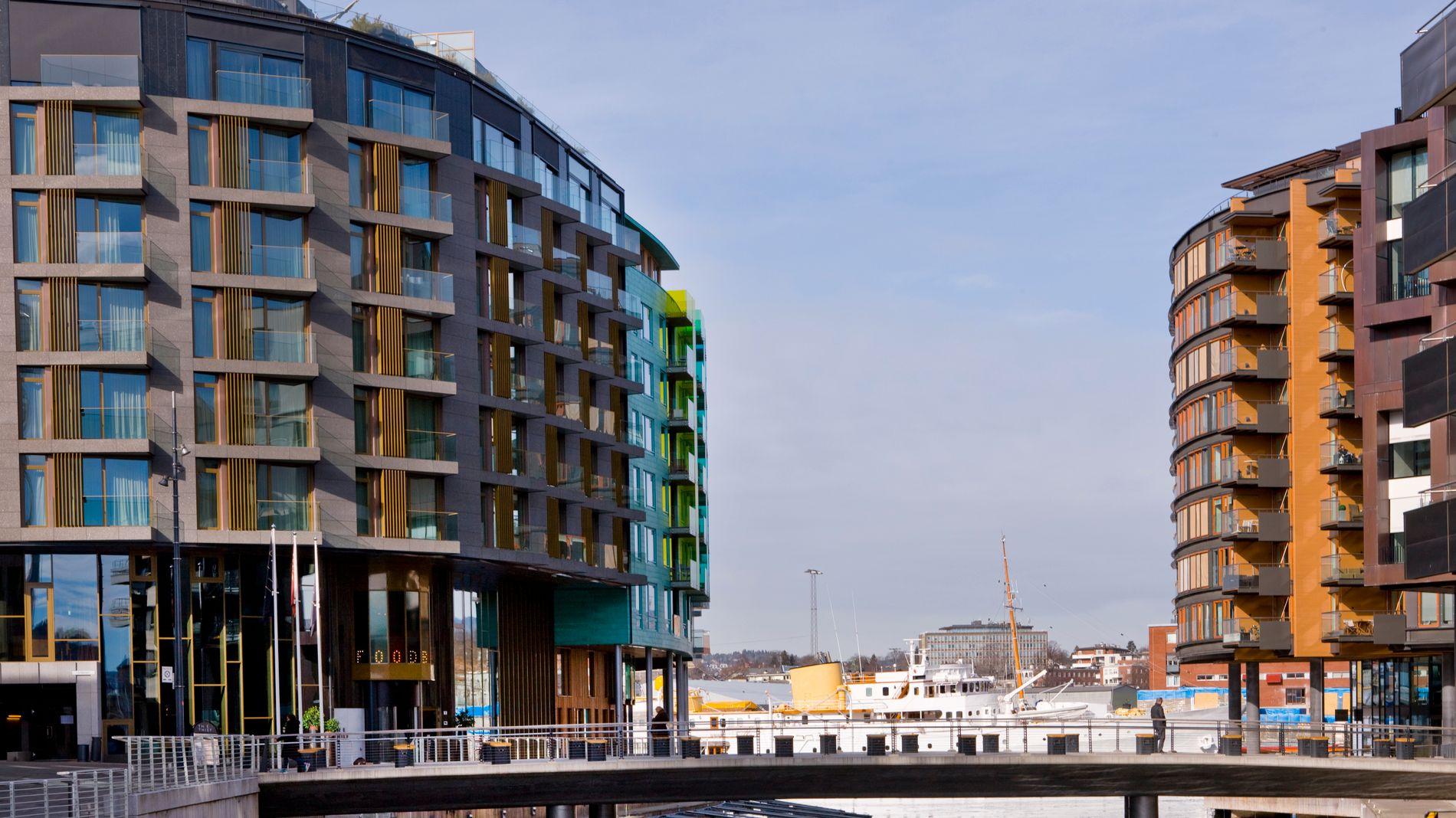 HÅVER INN: Aspelin Ramm står bak flere store byutviklingsprosjekter i Oslo, blant annet Tjuvholmen.
