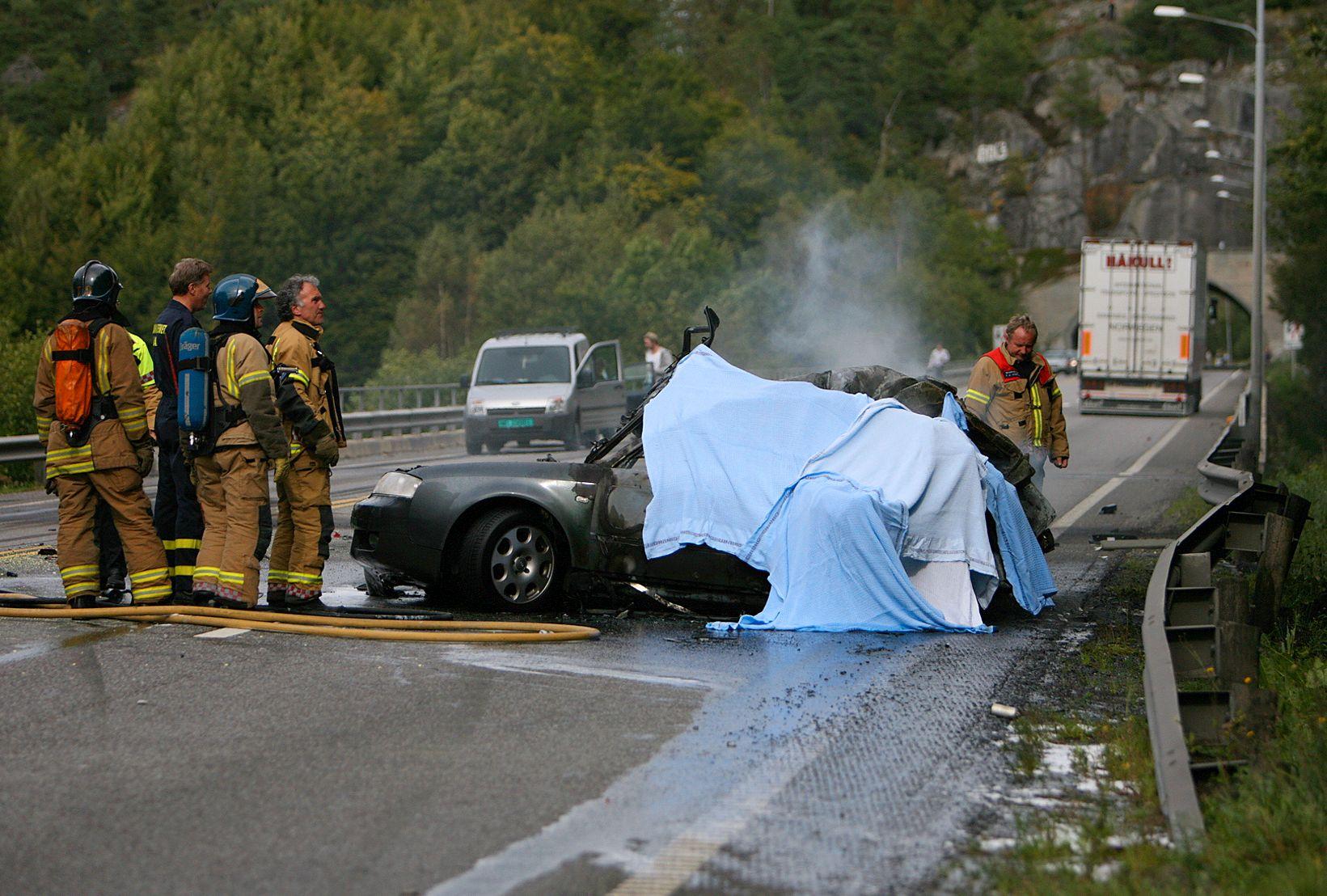 ULYKKER: I over fire av ti dødsulykker (43 prosent) har førerudyktighet vært en medvirkende faktor til ulykken, mens høy fart har vært en sannsynlig medvirkende faktor i 31 prosent av ulykkene. Det viser tall fra Statens vegvesen.