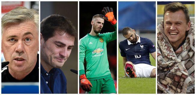 556b8975 ... Casillas-avskjeden, De Gea-overgangen, Benzema-saken og Cherysev  suspensjonen. Fem av enda flere skandaler som har rystet Real Madrid i 2015.