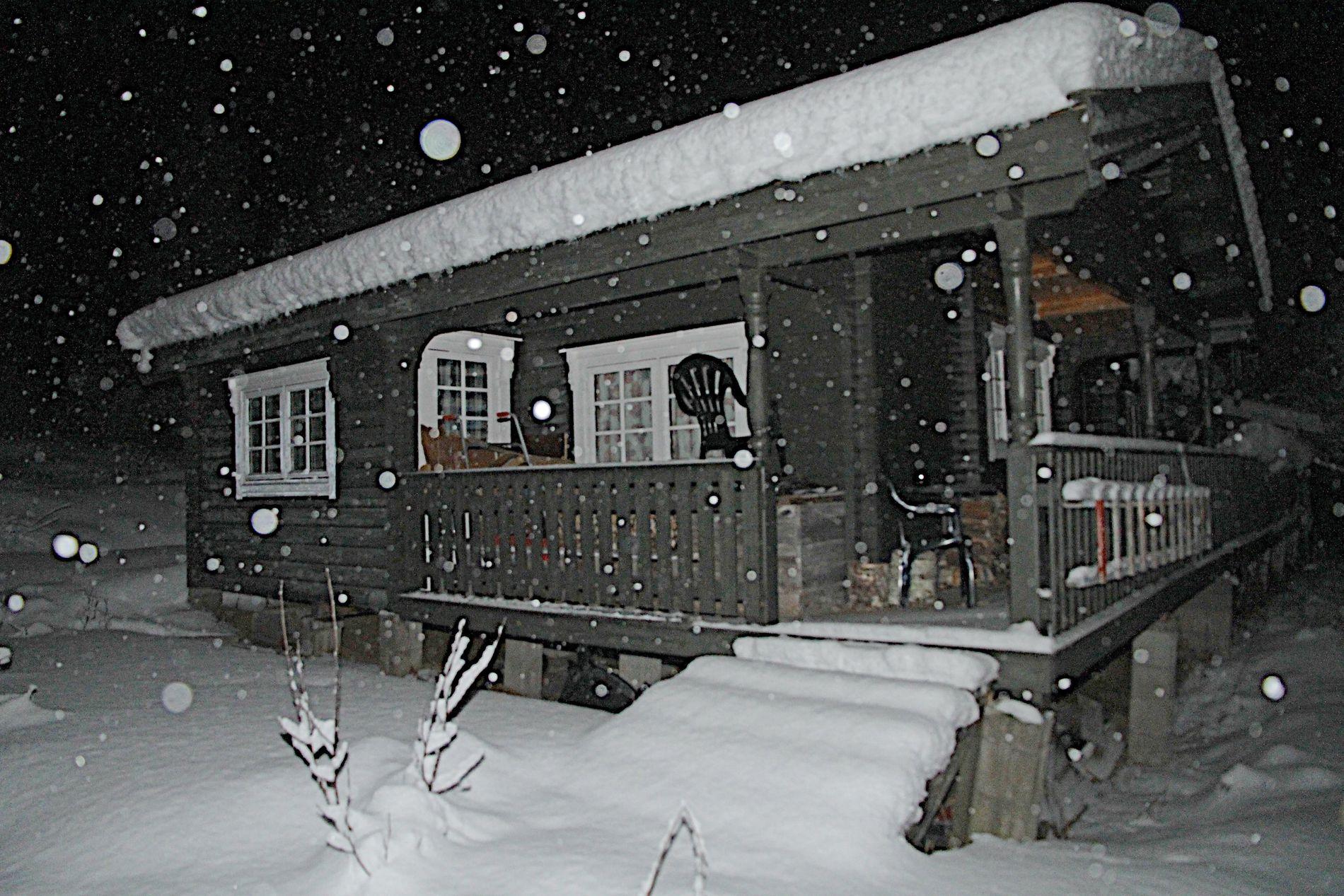 HYTTA: Dette er hytta til Svein Ludvigsen hvor flere av overgrepene skal ha skjedd.