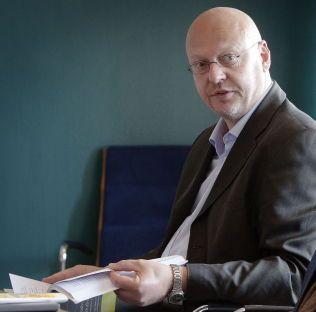 ORDNET FORSØKET: Avdelingsdirektør ved Justis- og beredskapsdepartementet, Andreas Skulberg.