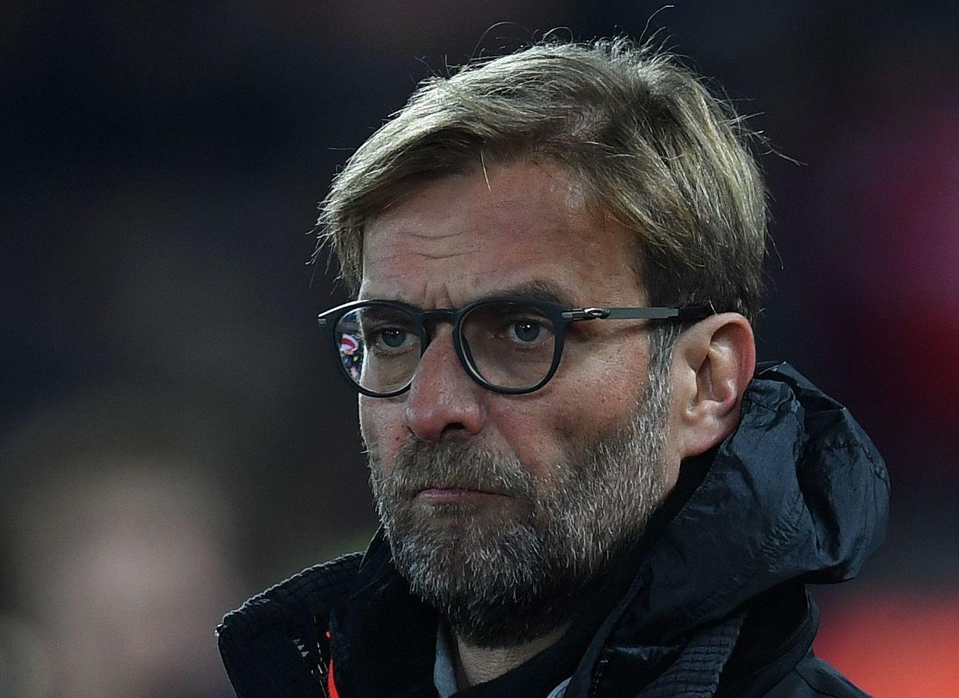 MISFORNØYD: Liverpool-boss Jürgen Klopp synes kammprogrammet er for tett. Dette bildet er tatt i ligacupmatchen hjemme mot Leeds for en måned siden (2-0-seier).