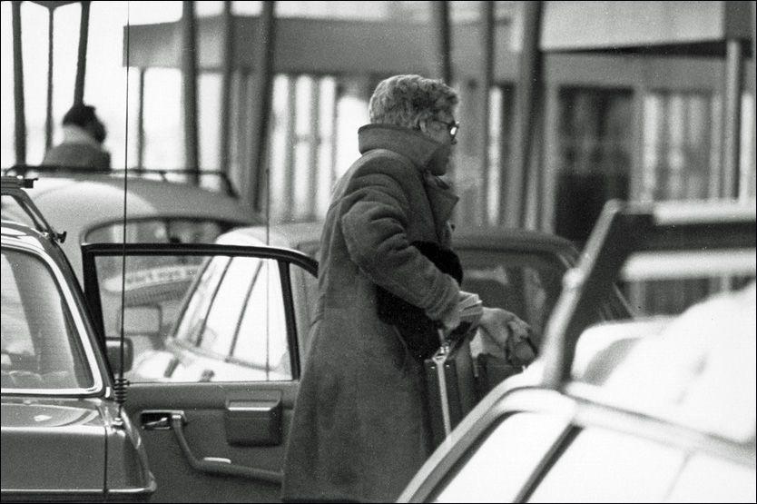 OVERVÅKET: I ett og et halvt år ble Arne Treholt overvåket. Nå sier PST at de ikke sitter på noe overvåkingsmateriale fra denne tiden. Foto: Politiet