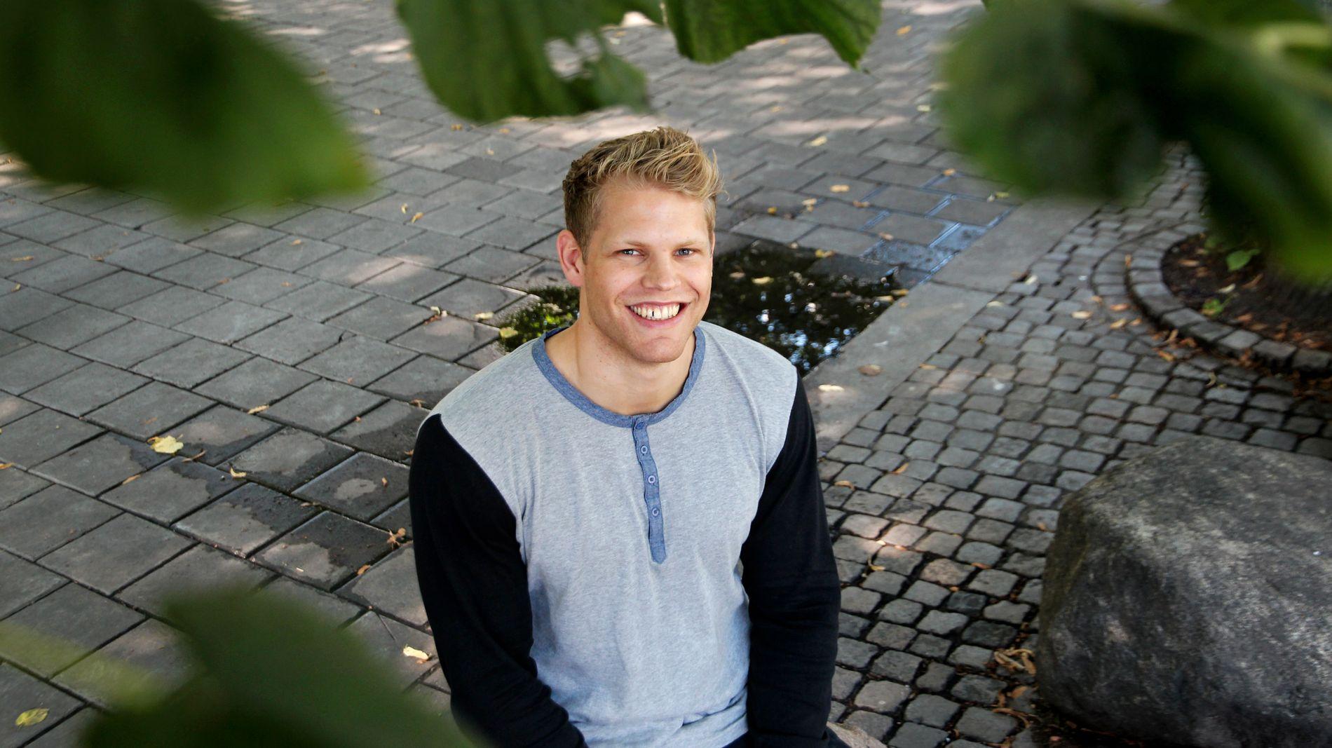 CRYPTOSMIL: Torsdag var Johan Torås Halseth, utvikler i Lightning Labs i Oslo for å holde foredrag for Norges største miljø for blokkjede-teknologi.