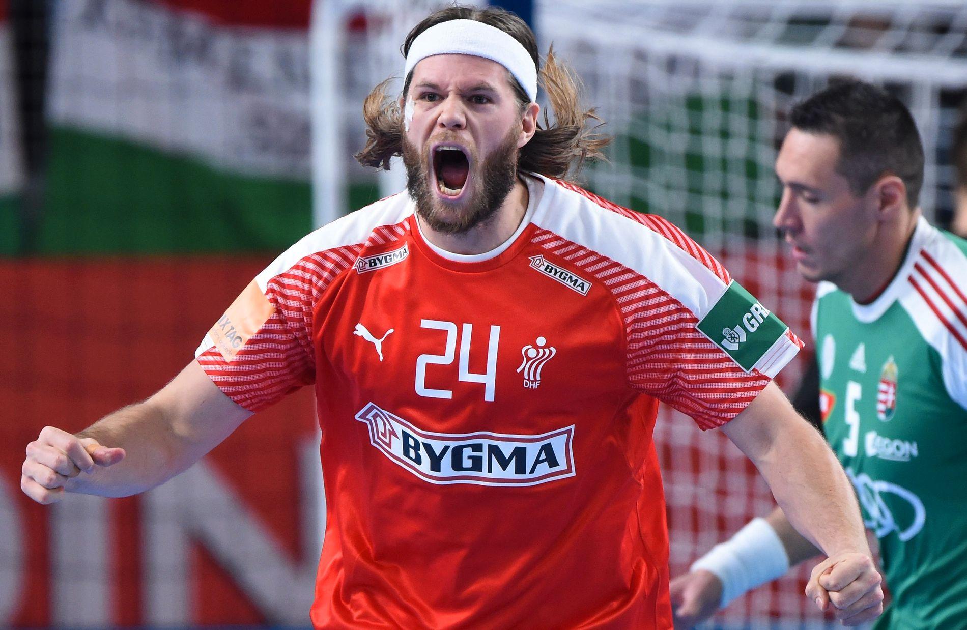 VIST UT: Mikkel Hansen pådro seg det som skal være hans første røde kort noen gang.