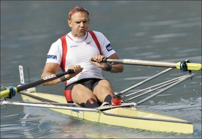 FINALEKLAR: Olaf Tufte kom på andreplass i semifinalen fredag. Foto: Reuters