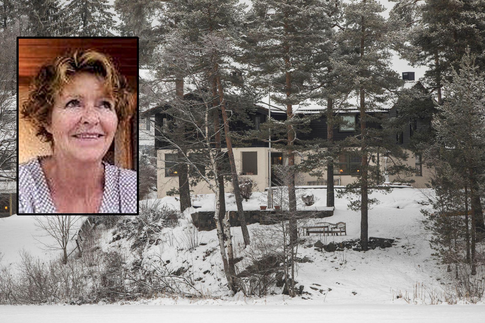 SAVNET:  Anne-Elisabeth Falkevik Hagen er savnet. Politiet frykter hun ble bortført fra sitt eget hjem på Fjellhamar i Lørenskog.