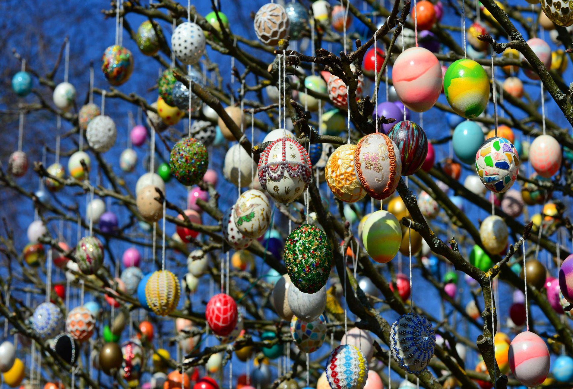 GOD PÅSKE: – Egget som symboliserer Jesu oppstode er eit av våre mest utbreidde påskesymbol, skriv Oslo-biskop Kari Veiteberg.