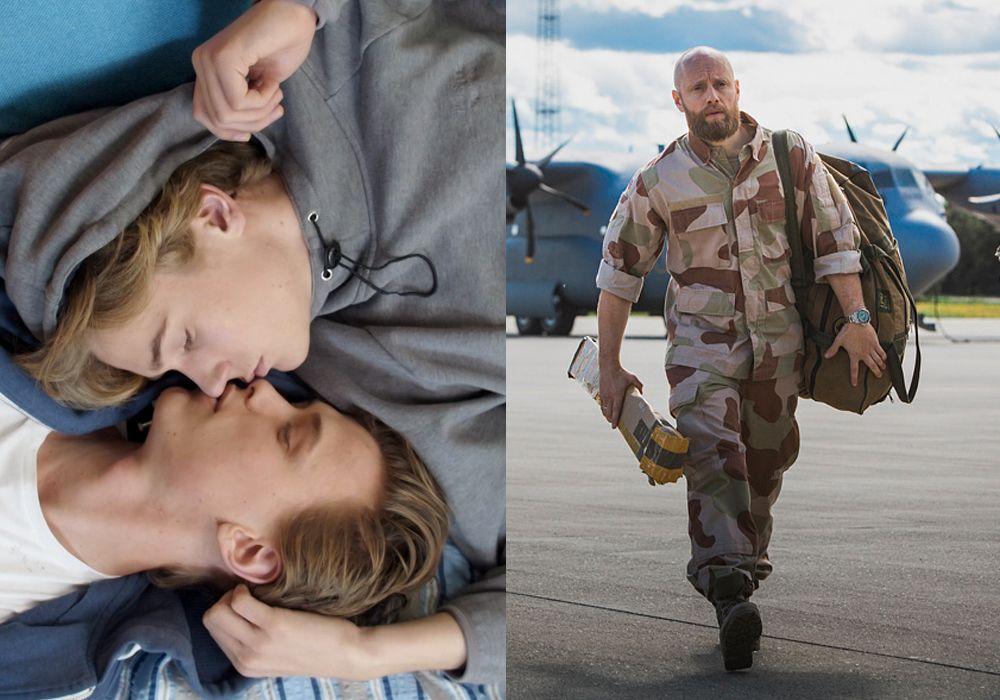 KONKURRENTER: NRK-seriene «Skam» og «Nobel» er begge nominert i kategorien for beste TV-drama, og Tarjei Moe og Aksel Hennie kjemper mot hverandre i kategorien for beste mannlige skuespiller.