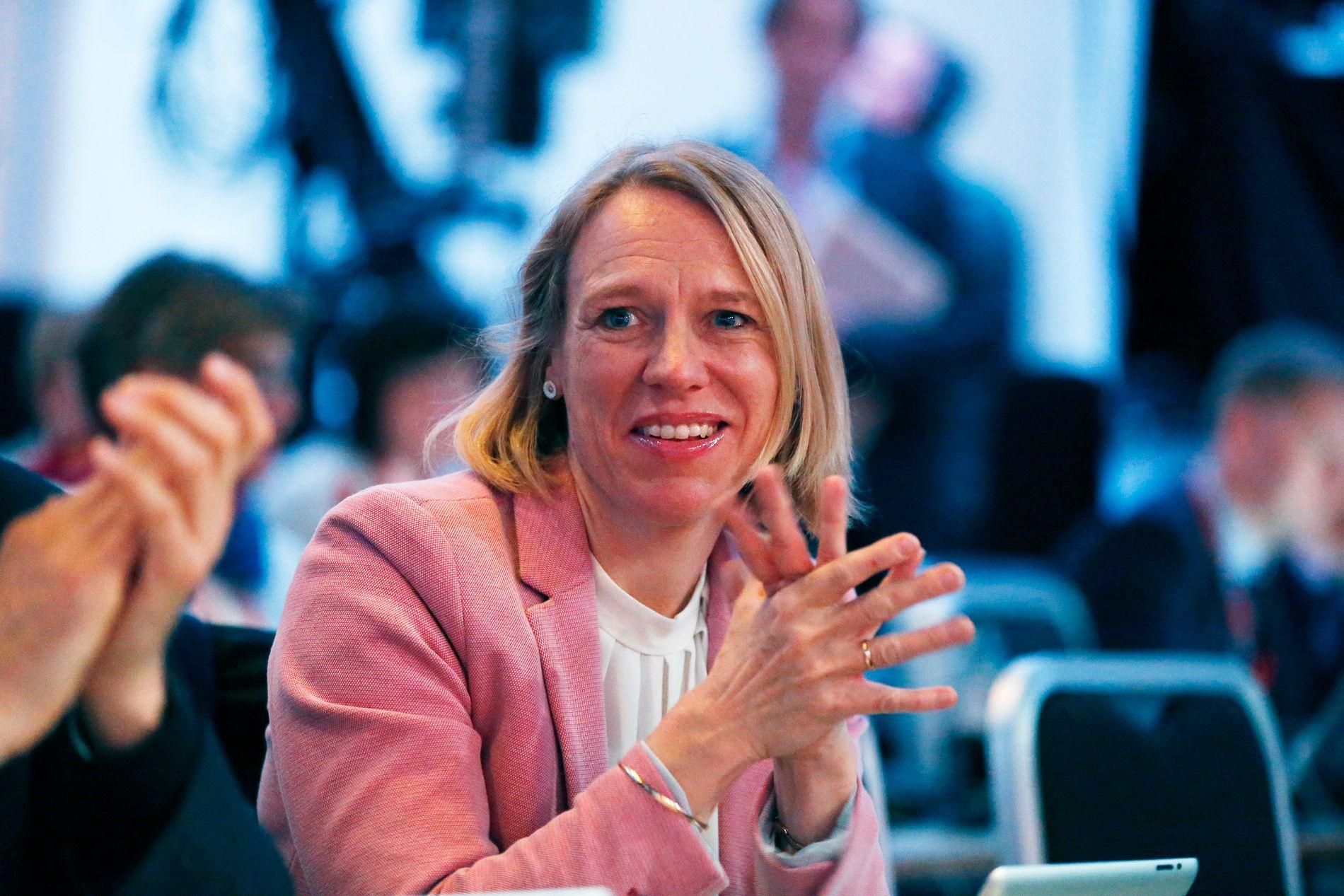 ENDRET SYN: I et innslag på TV 2-nyhetene torsdag sier Anniken Huitfeldt at hun har endret syn på seksuell trakassering. Her på Arbeiderpartiets landsmøte i fjor. FOTO: TROND SOLBERG/VG
