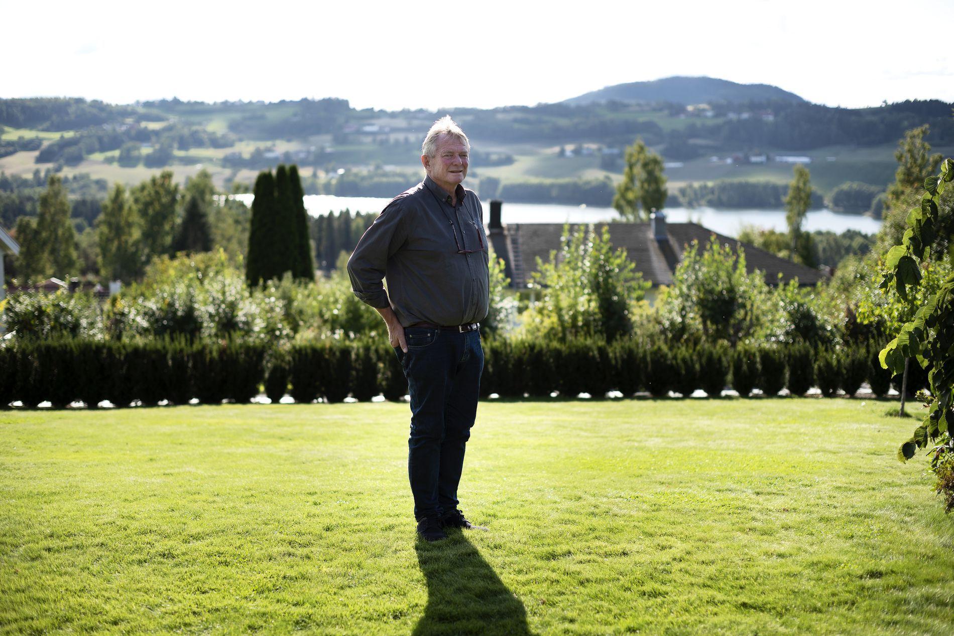 LA SEG FLAT: VG besøkte Thorstein Skjaker i september. Da la han seg flat og beklaget at han hadde prøvd å overfakturere Oslo kommune.