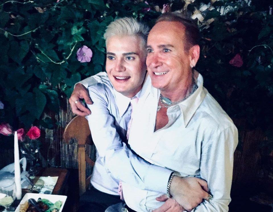 GIFT I TRE ÅR: 17. august har Lars Tangen og Phil Ackerman tre års bryllupsdag.