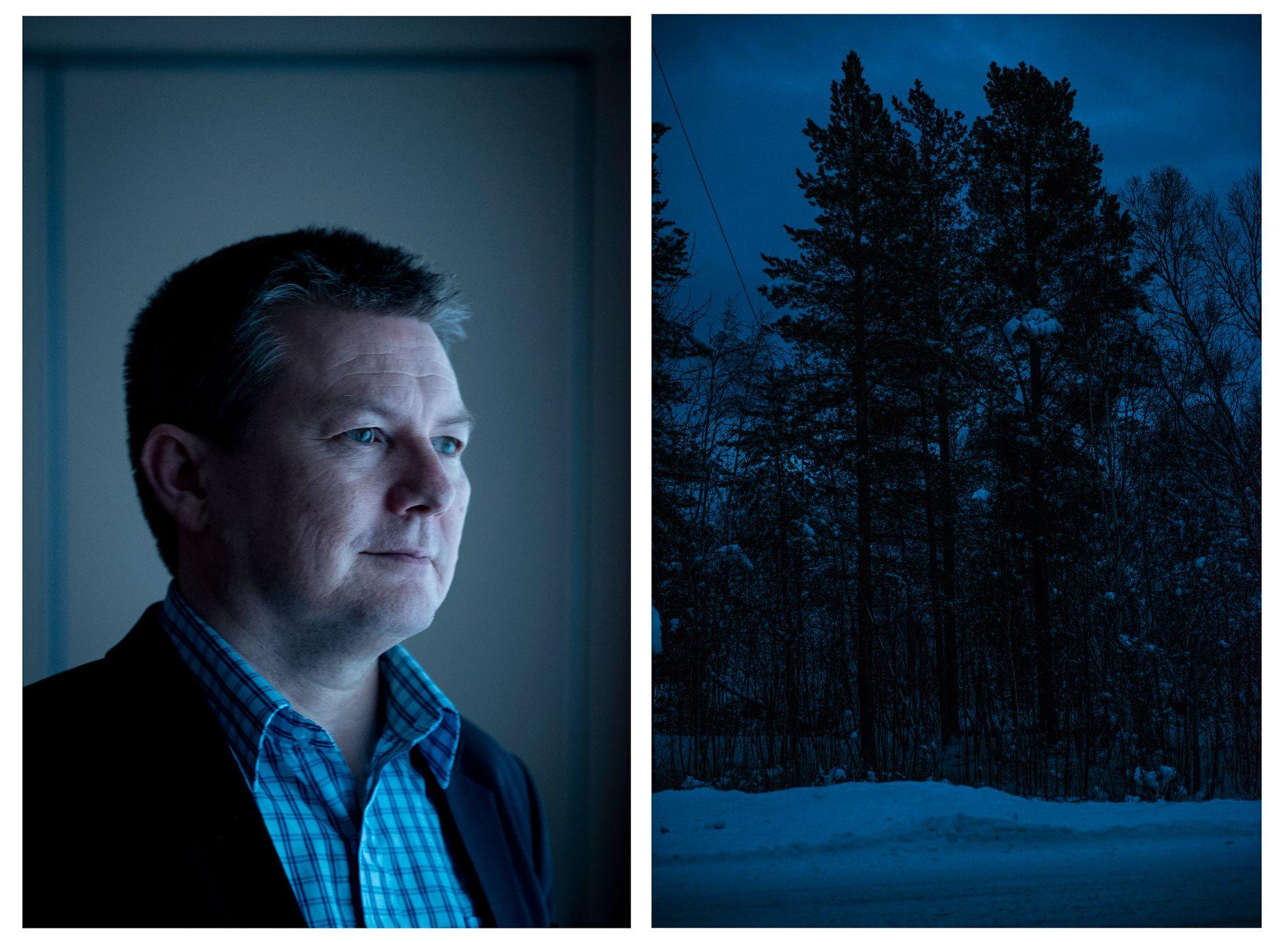 BERØMMER: Lars Magne Andreassen, direktør for det lulesamiske kultursenteret Árran sier han er stolt av ofrene som sto frem og av den jobben politiet har gjort.