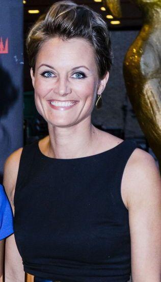 POPULÆR: Pernille Sørensen, her på Komiprisen for en tid tilbake.