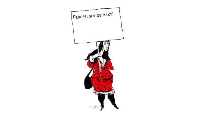 LAG DIN EGEN: I dag kan du selv lage en parole hos VG på kvinnedagen.