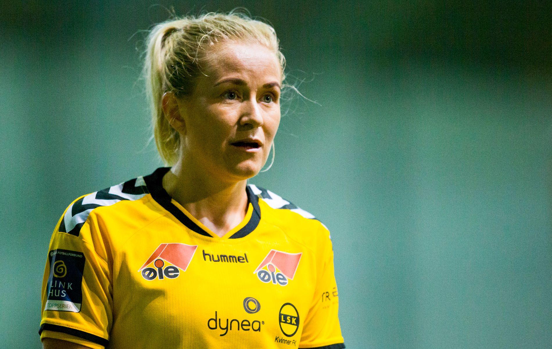 VIL KUTTE: Lene Mykjåland mener færre lag i Toppserien vil gi flere jevne kamper og mer konkurranse om plassene på lagene.
