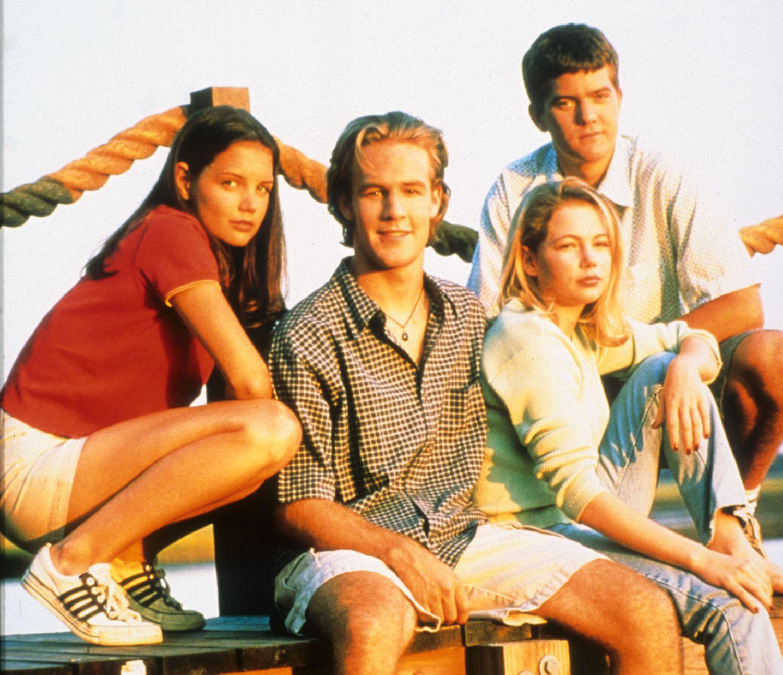 KJENT GJENG: Seere ble godt kjent med Dawson, Joey, Jen og Pacey gjennom seks sesonger.