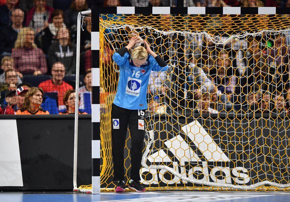 SØLVKAMPEN: Katrine Lunde og de norske håndballjentene greide ikke å gå helt til topps i årets VM.