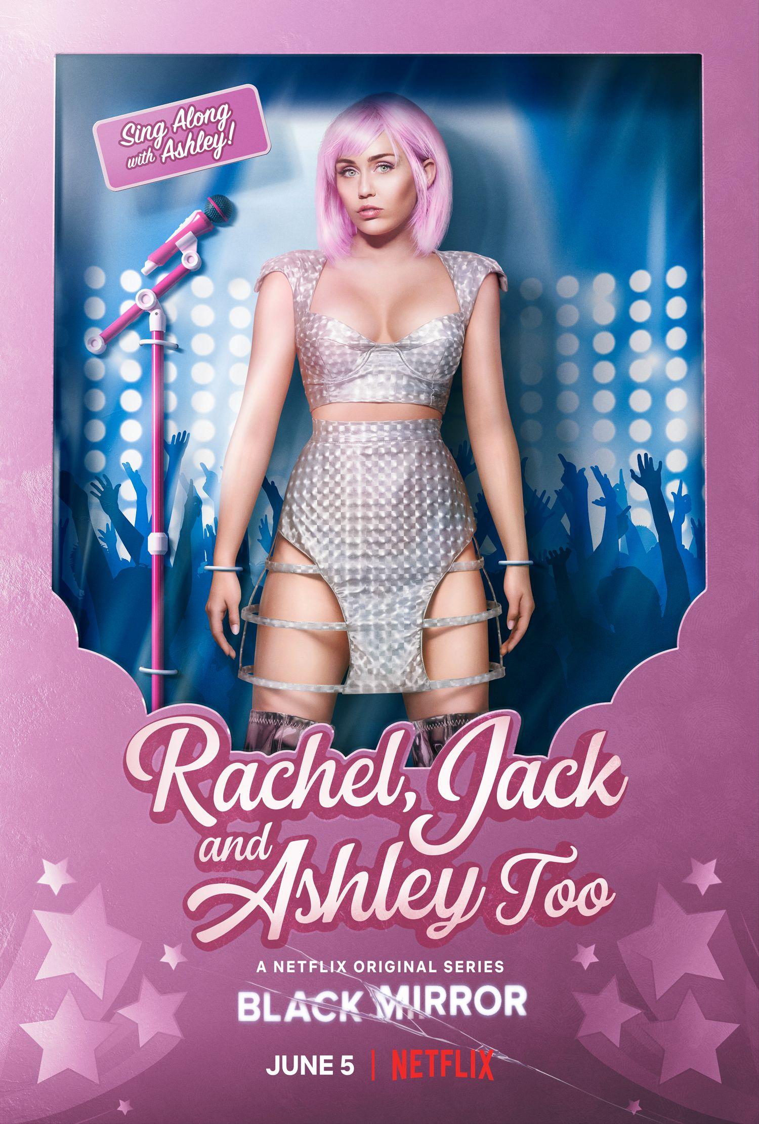 PLAKAT: Slik promoteres episoden der Miley Cyrus har hovedrollen.