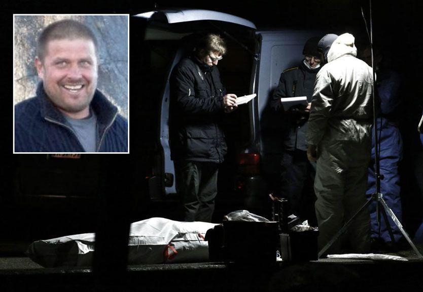 DREPT: Stein Kjetil Fredriksen ble drept da han ifølge dansk politi begynte å skyte mot innsatsstyrkene fra dansk politi. Foto: René Schütze/Privat