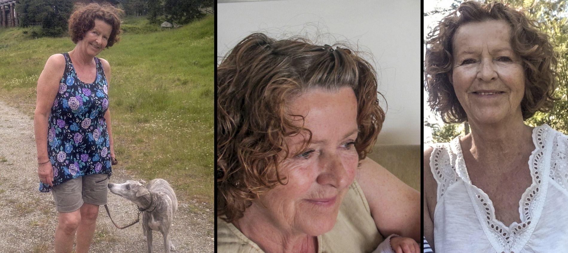 FORSVUNNET: Politiets hovedhypotese er at Anne-Elisabeth Hagen (68) ble bortført av ukjente gjerningsmenn fra sitt hjem den 31. oktober i fjor.