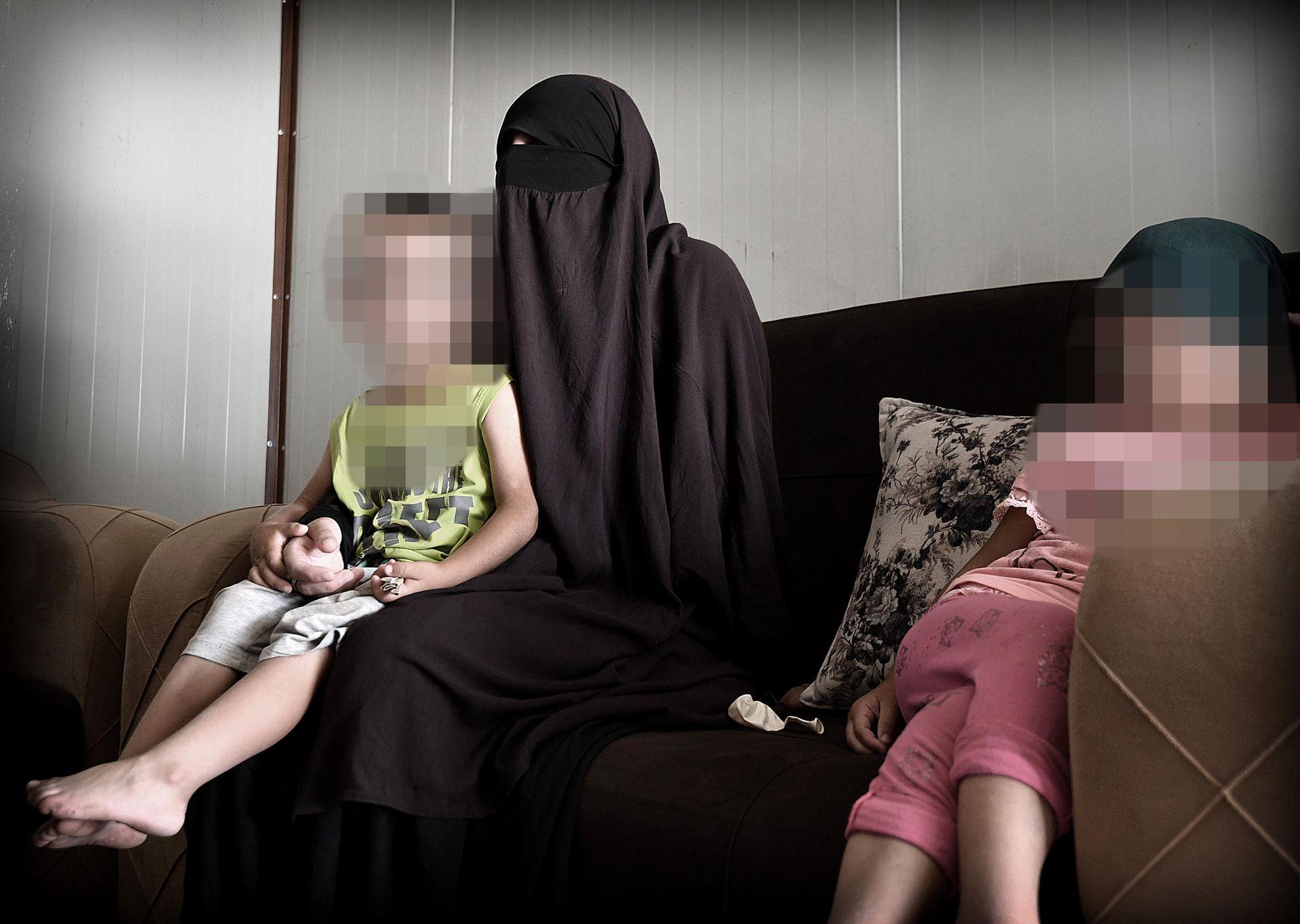 Datteren sitter i IS-leiren: – De mest ekstreme bestemmer
