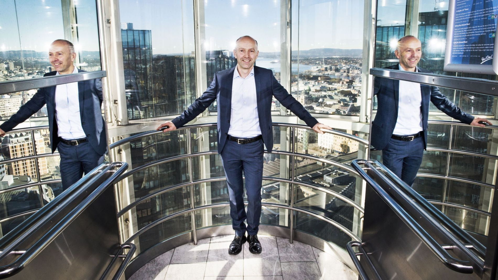 SETTER NED RENTEN: BN Bank-sjef Gunnar Hovland sier de vil være i forkant og setter ned renten.