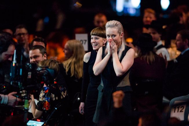 DANKET UT A-HA: Bow To Each Other vant prisen for Årets popgruppe under Spellemannprisen.