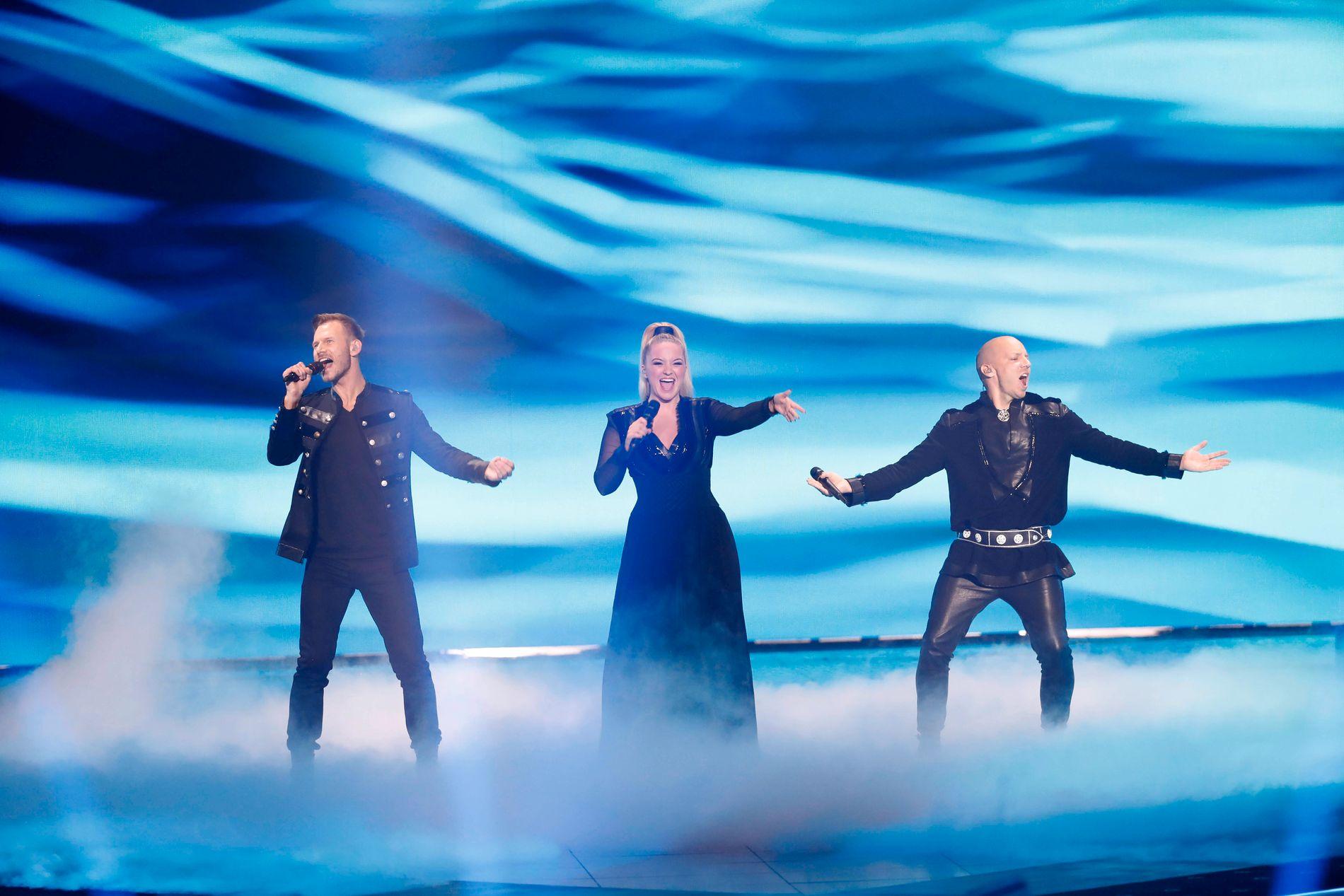 FINALE: Norske KEiiNO kom på femteplass under gårsdagens Eurovision-fest.