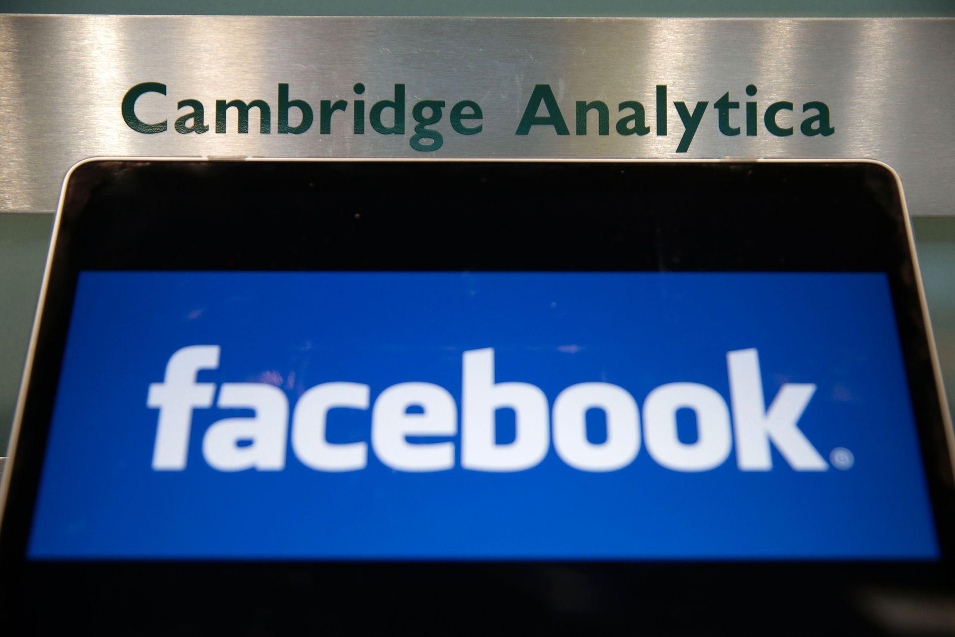 I HARDT VÆR: Det har stormet rundt Facebook etter at den såkalte Cambridge Analytica-skandalen ble kjent i mars.