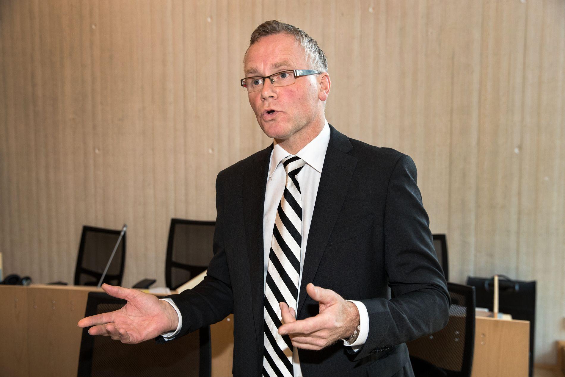 SKREV NOTAT: Førstestatsadvokat Eirik Stolt-Nielsen bekrefter at utvelgelsen av saker var tema på et møte med seksjonen for bekjempelse av organisert kriminalitet i fjor høst.