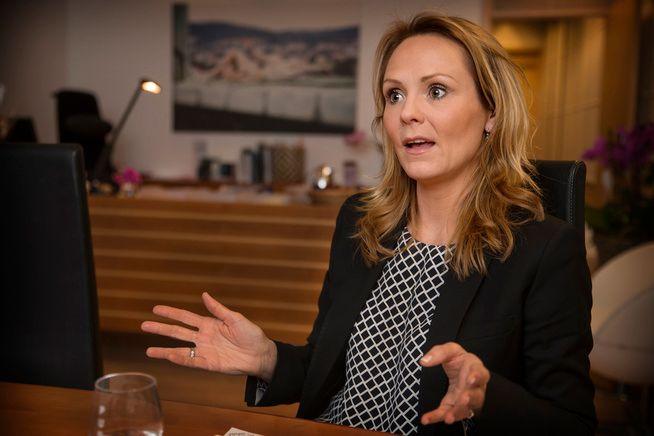 HAR FÅTT NOK: Kulturminister Linda Hofstad Helleland (H).