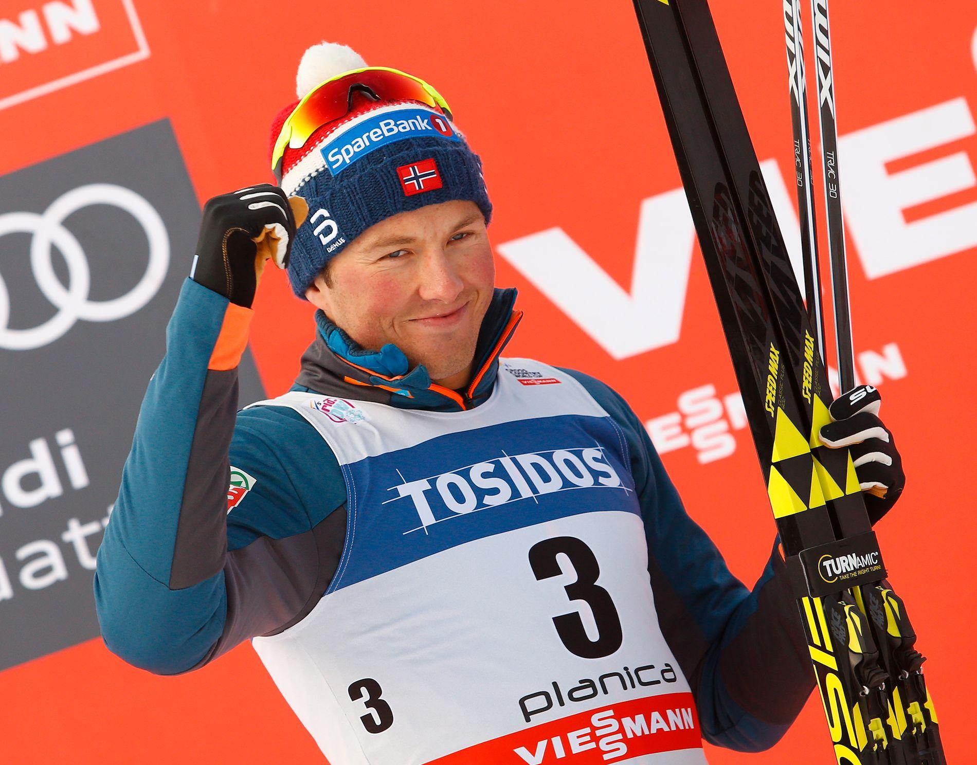 TILBAKE: Emil Iversens prestasjoner i Slovenia viser at han er på vei til å toppe OL-formen perfekt.