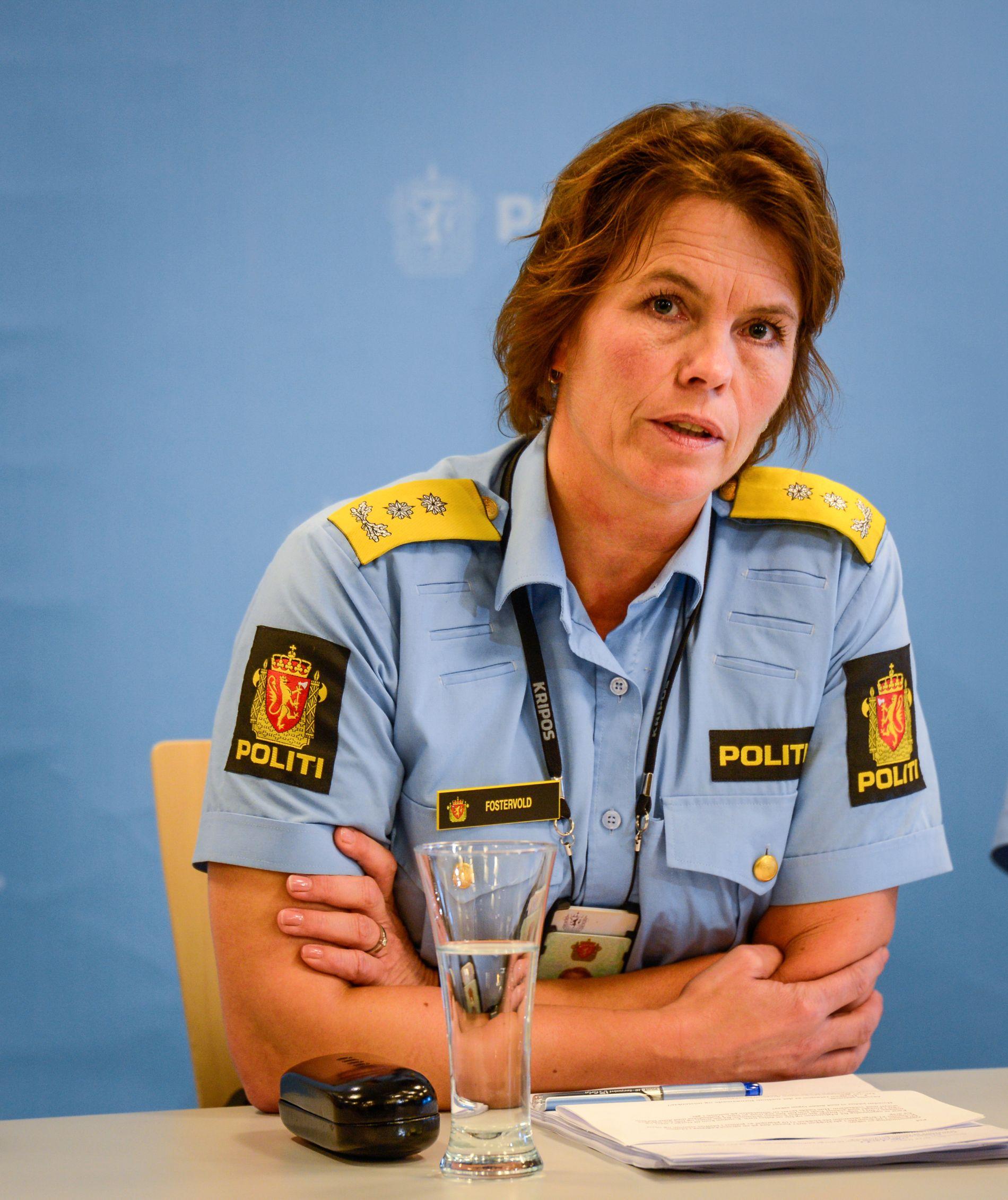 TØFT: Visepolitimester Marit Fostervold i Trøndelag politidistrikt beskriver kurset som hardt.