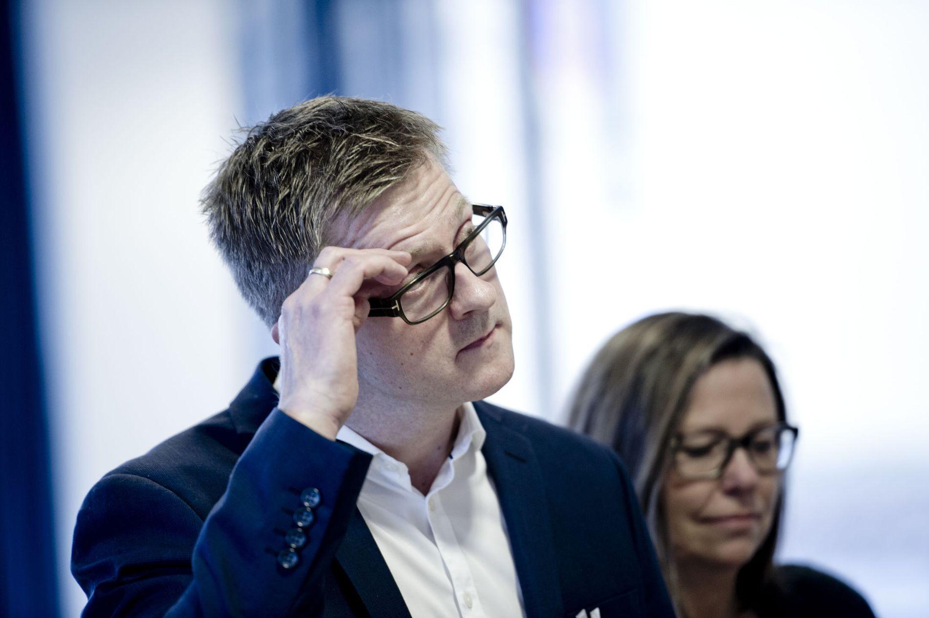 STILLER IKKE: Paratleder Hans-Erik Skjæggerud.