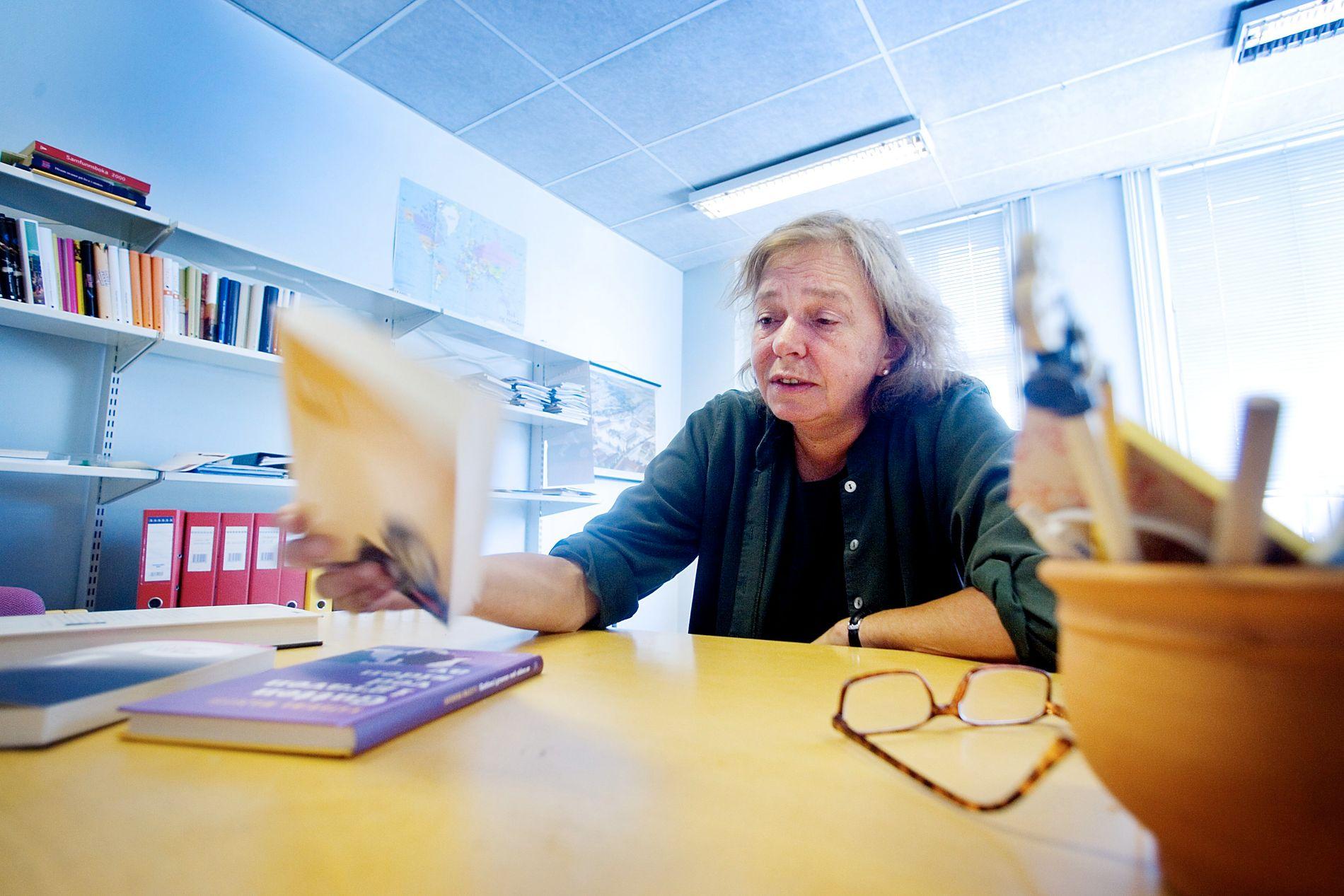 OVERRASKET: Forlagssjef Astrid de Vibe i Pax forlag trodde boken til Wærness ville skape mer debatt.