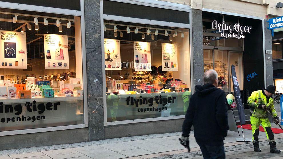 TGR: Den danske kjeden Flying Tiger Copenhagen hadde ved utgangen av 2018 til sammen 990 butikker globalt. I Norge er selskapet ferdig med butikk-ekspansjonen, og skal fremover fokusere på lønnsomheten.