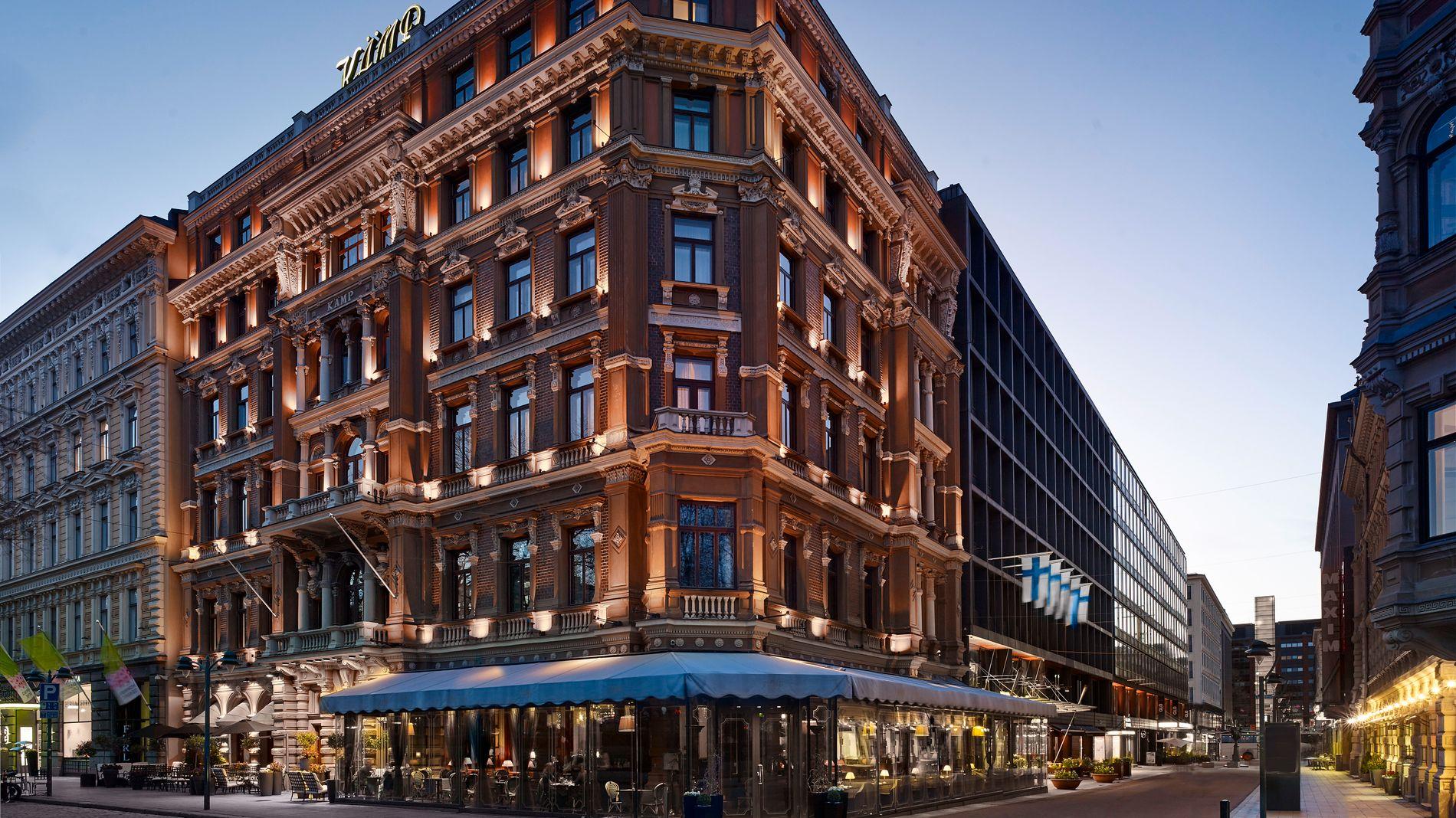 LANG HISTORIE: Kämp Hotel i Helsinki ble bygget av grunnlegger Carl Kämp i 1887. Den gang het hotellet Grand Hotel. Det omtales som Finlands mest kjente og ærverdige hotell.