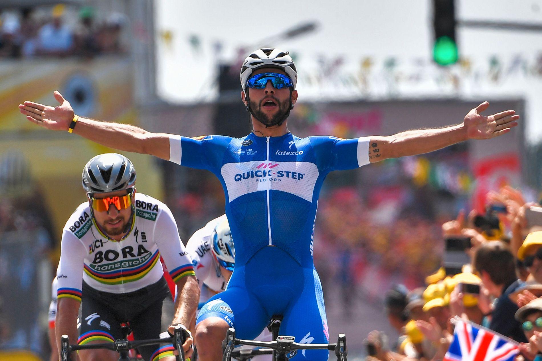 UTE! Fernando Gaviria vant to etapper i den første uken av årets Tour de France. Nå er han ute av rittet før uke to er ferdig.